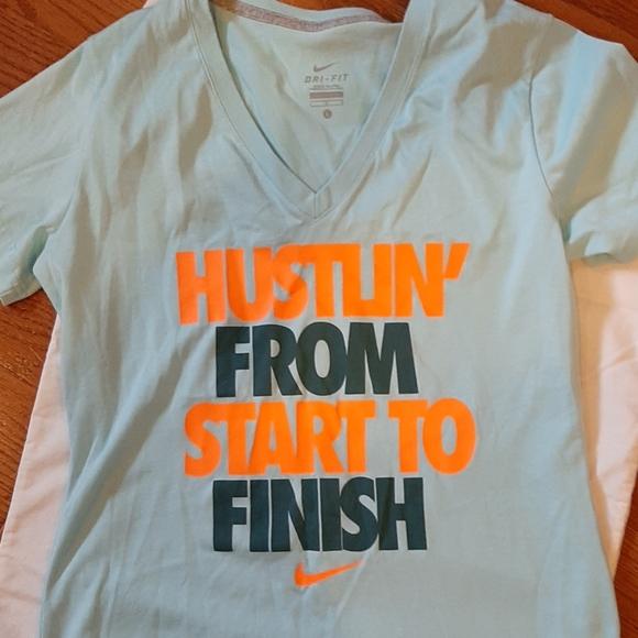 Nike Tops - Nike V-neck Dri-fit T shirt